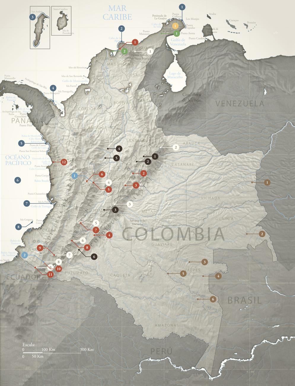 Ambientes Extremos De Colombia Colecci 243 N Ecol 243 Gica Banco